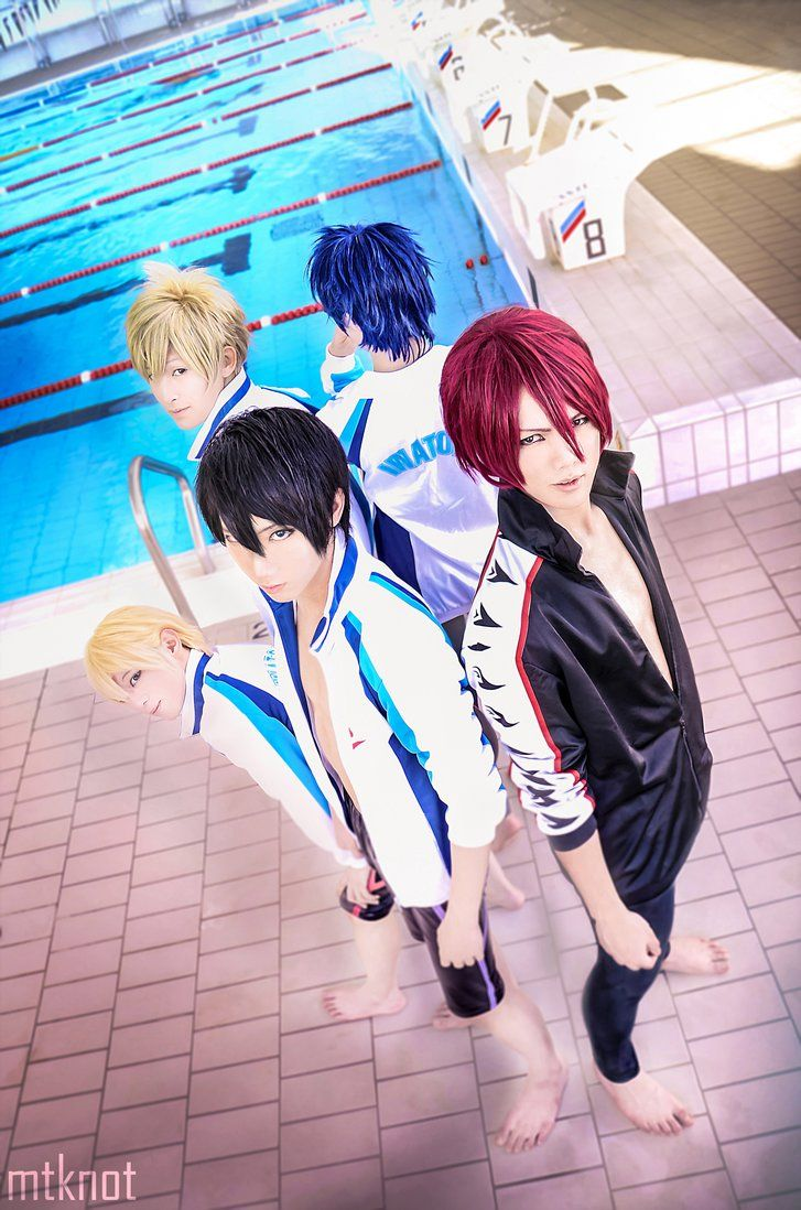 Photo of Free! cosplay swimming anime by dat-baka on DeviantArt