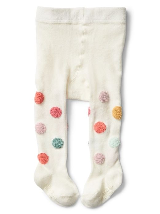 9b80028e1da1f Gap Baby Crazy Dots Sweater Tights Ivory Frost | Products | Baby ...