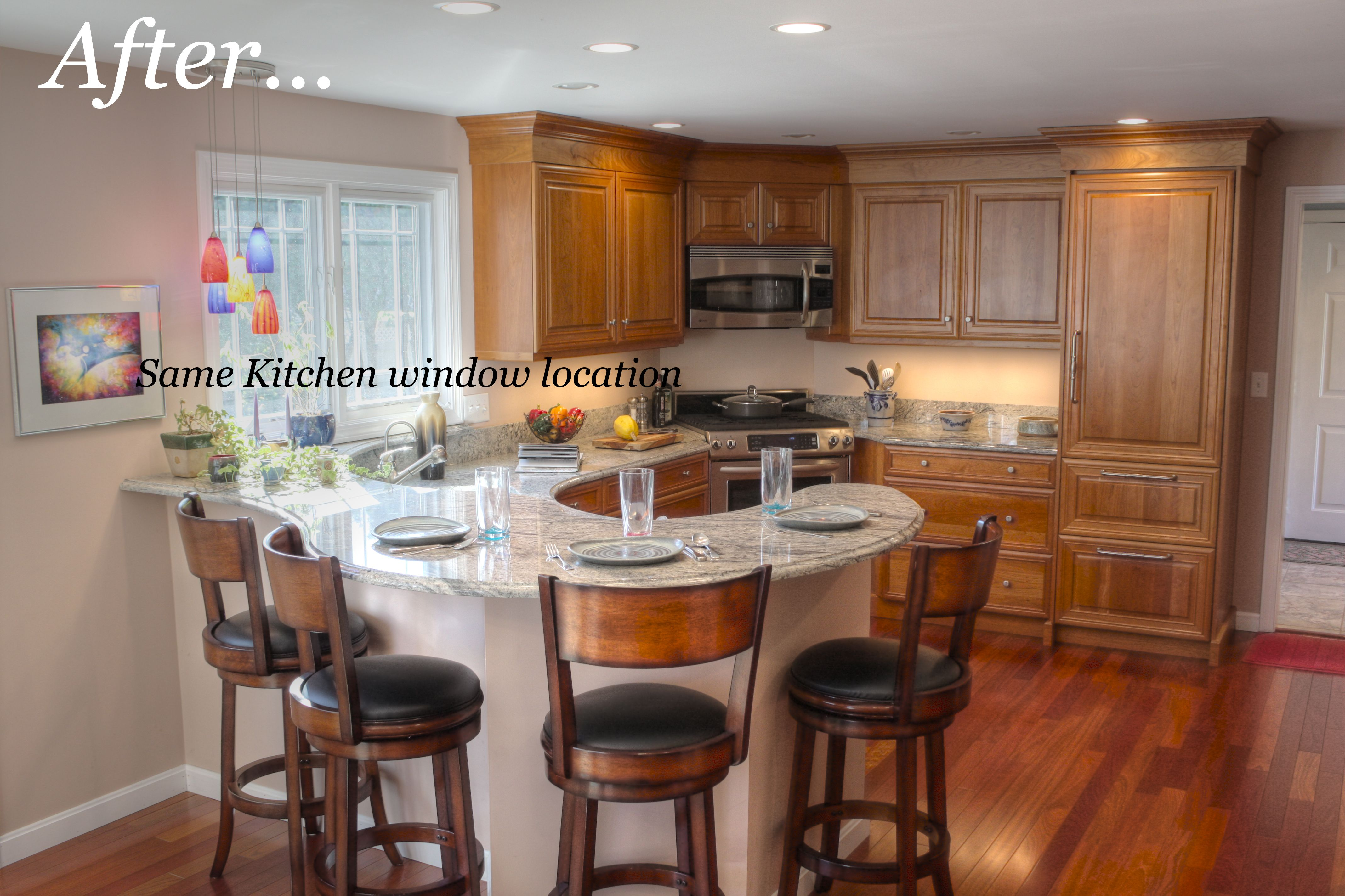 Nashua Nh Kitchen Remodel From 1960 S Knotty Pine To Unique Transitional With A Lo Kitchen Remodel Small Kitchen Remodel Countertops Cheap Kitchen Remodel