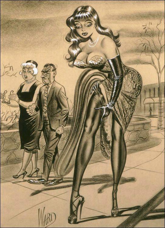 Bill ward erotic art