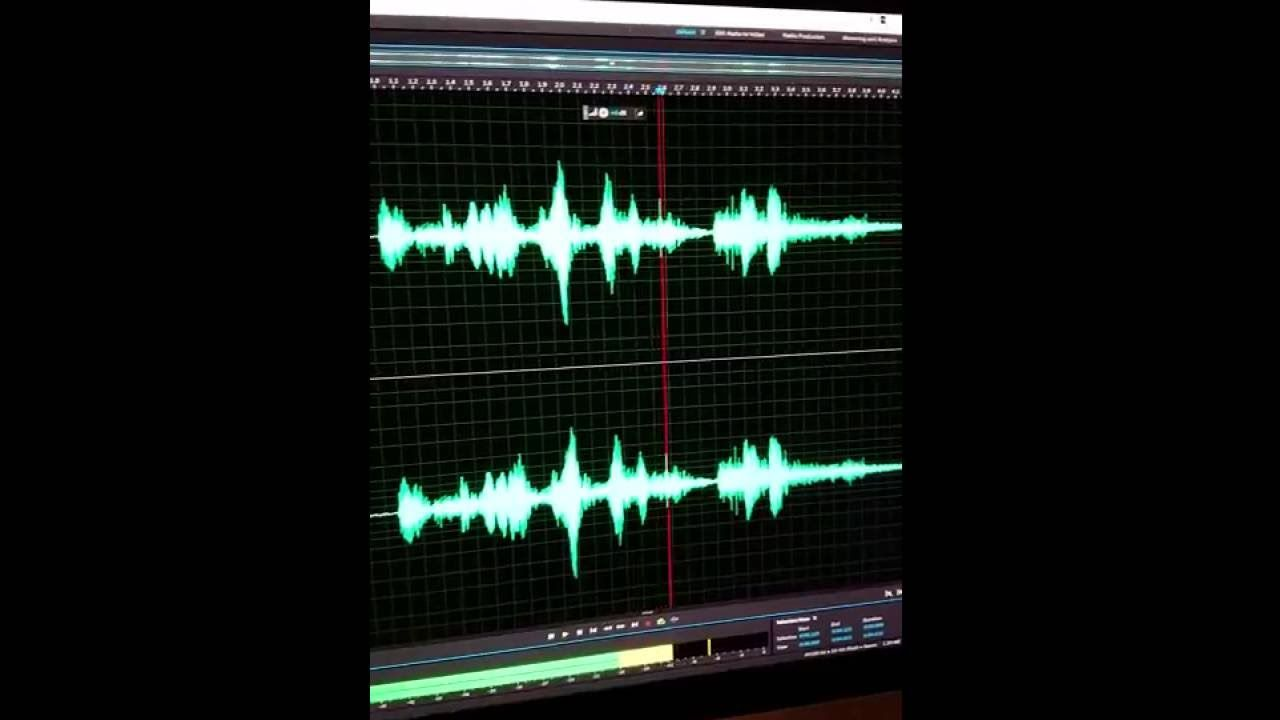 Real EVP Unknowingly Recorded on Movie Set