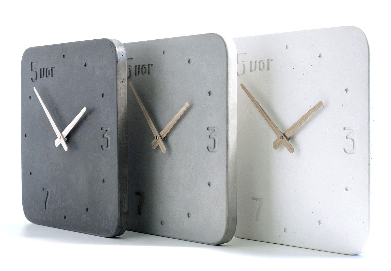 Moderne Wanduhren Wohnzimmer : moderne wanduhr aus beton in zeitlosem design in 2019 ~ A.2002-acura-tl-radio.info Haus und Dekorationen