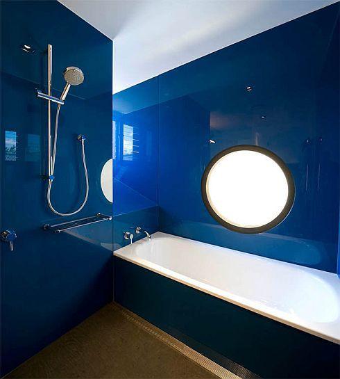 Schon Die Schöne Wandfarbe Blau Für Schickes Badezimmer Interior