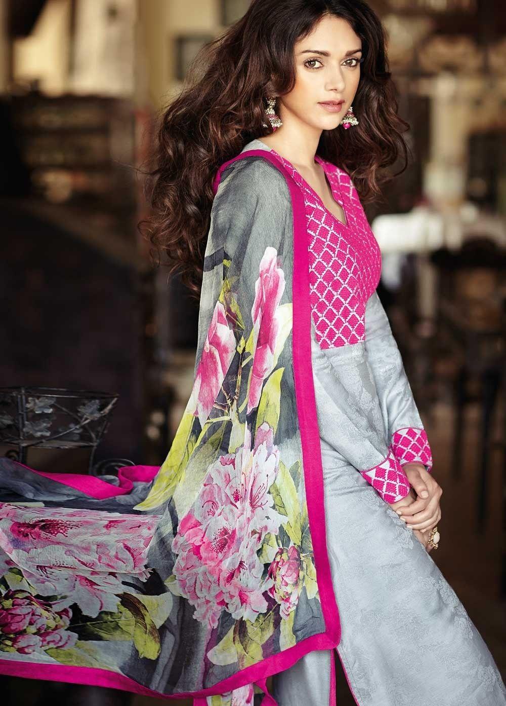 Cotton Suits | Cotton Suits | Pinterest | Salwar kameez online ...