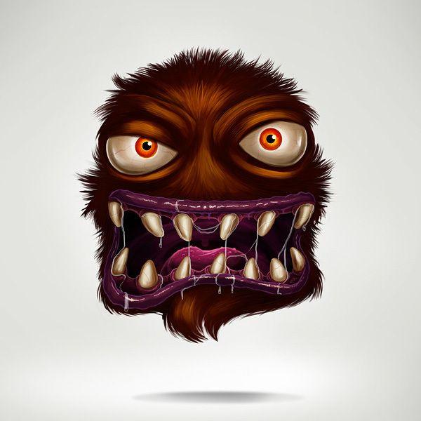 Virus by Diego Leal, via Behance