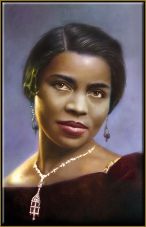 Marian Anderson - the famous composer Auturo Toscanni described her voice as one that is heard only once every 100 years.