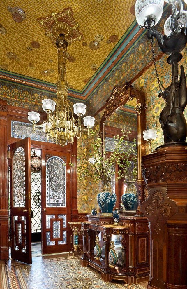 Entry Hall | Victorian Interior | Pinterest | Victorian ...