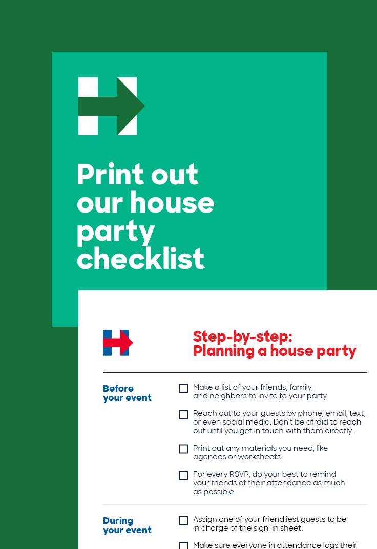 Planning to host a Debate Watch Party? Click to print this