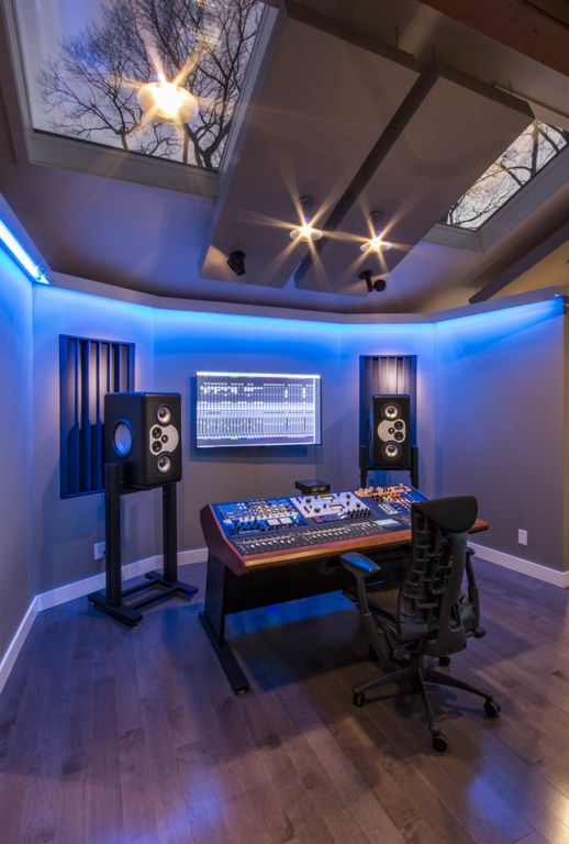 Music Office Room Home Recording Studios