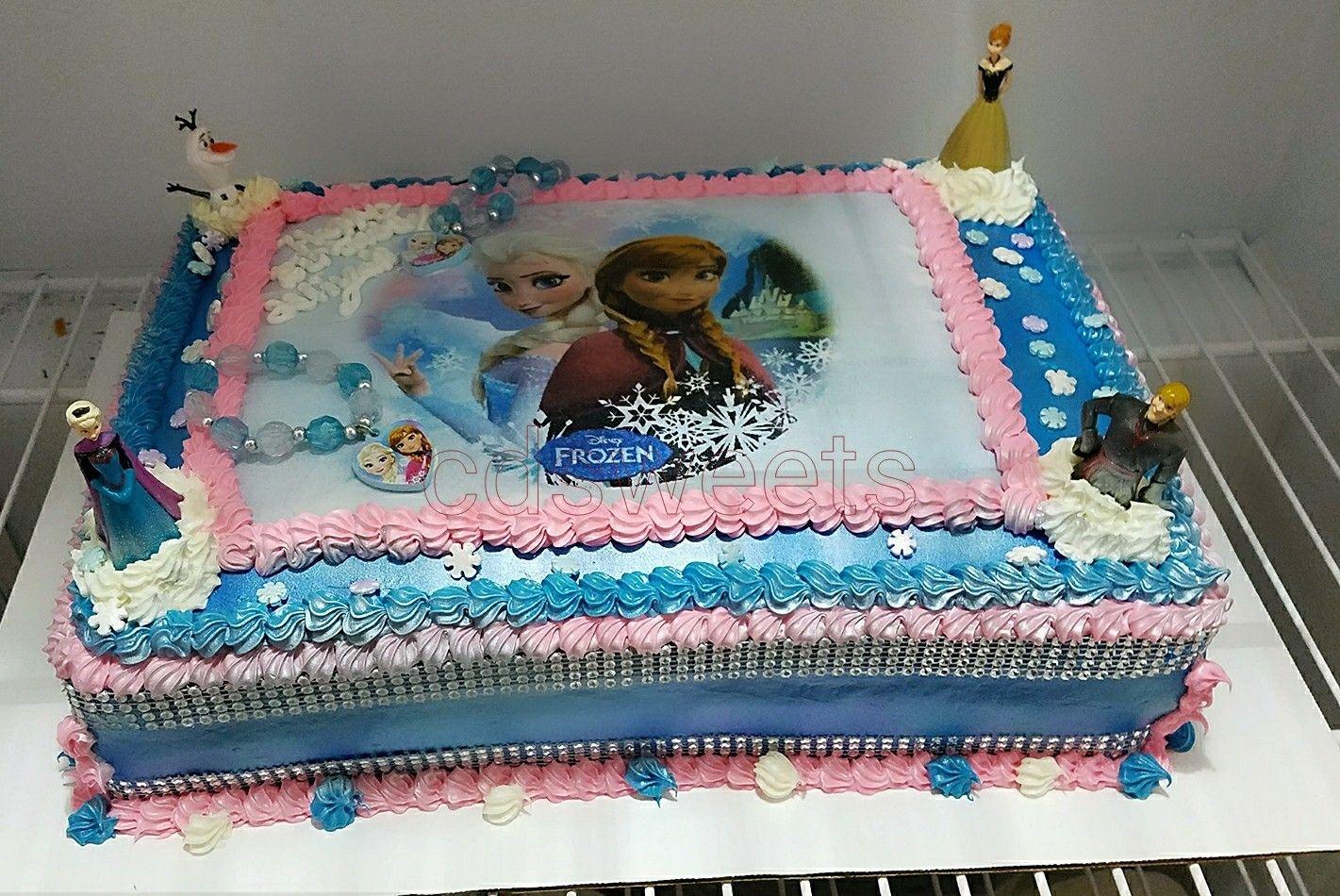 Disney Frozen full sheet cake Coris Cakes Pinterest Full