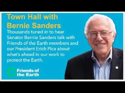 Town Hall with Senator Bernie Sanders