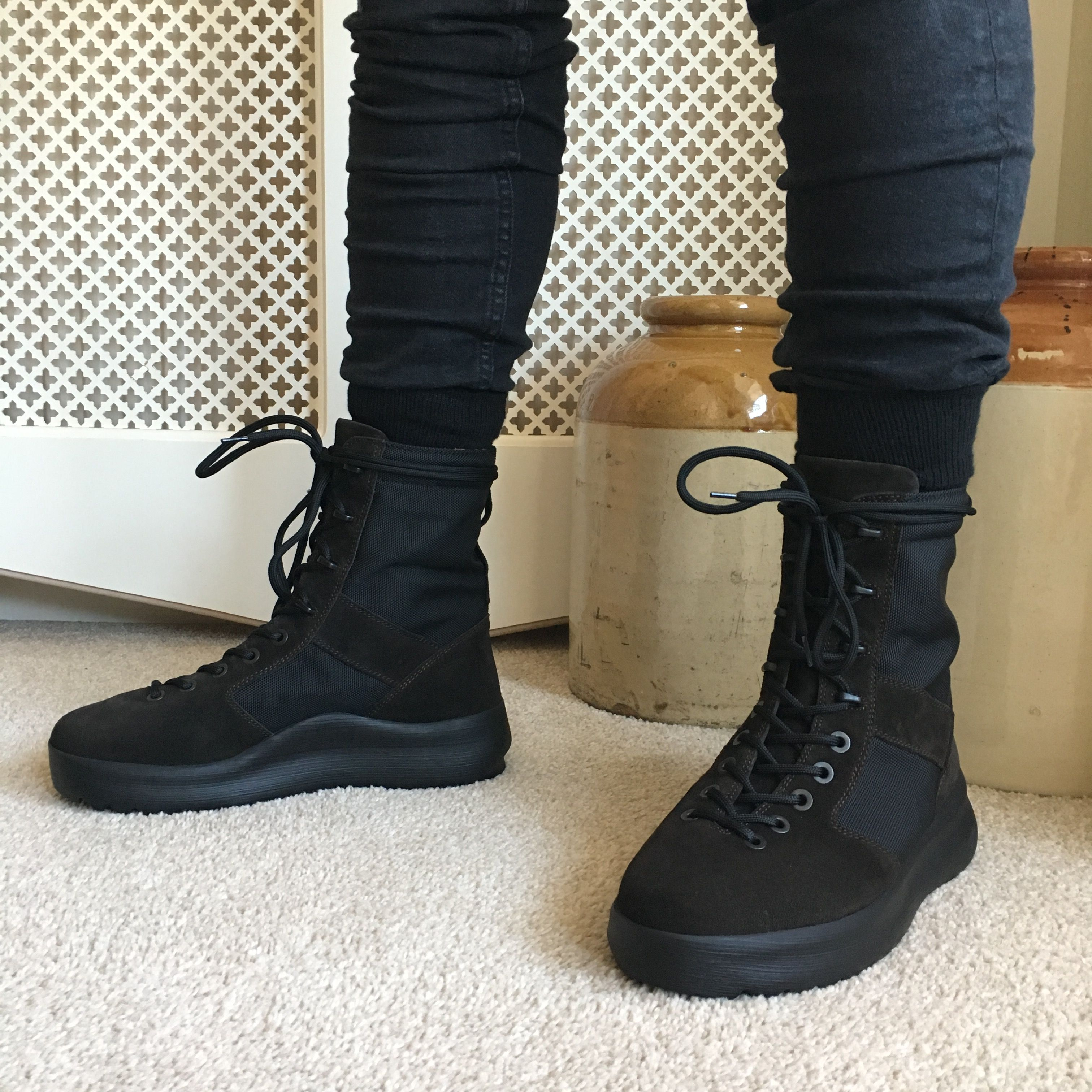 a78f8c384029c Yeezy Season 3 Military Boots - OnyxShade