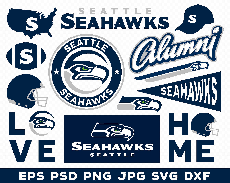 Seattle Seahawks Nfl Logo Svg Eps Ai Png Jpg Pdf Etsy In 2020 Nfl Logo Seattle Seahawks Seahawks
