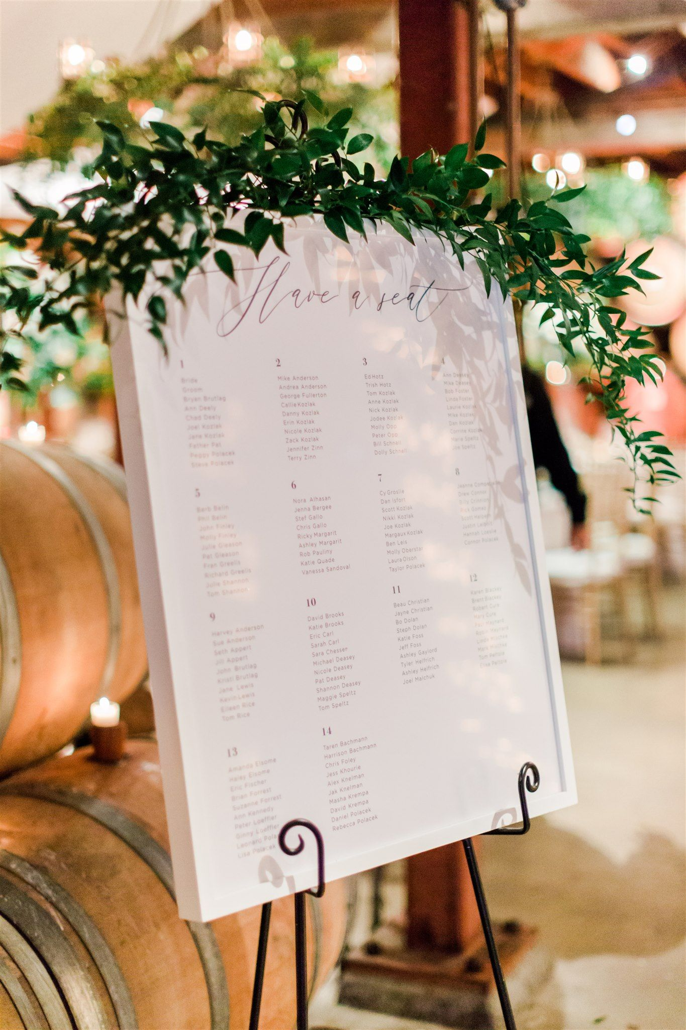 Elegant Spring Winery Wedding | Glamour & Grace in 2020 | Winery weddings,  Romantic colors palette, Glamorous wedding