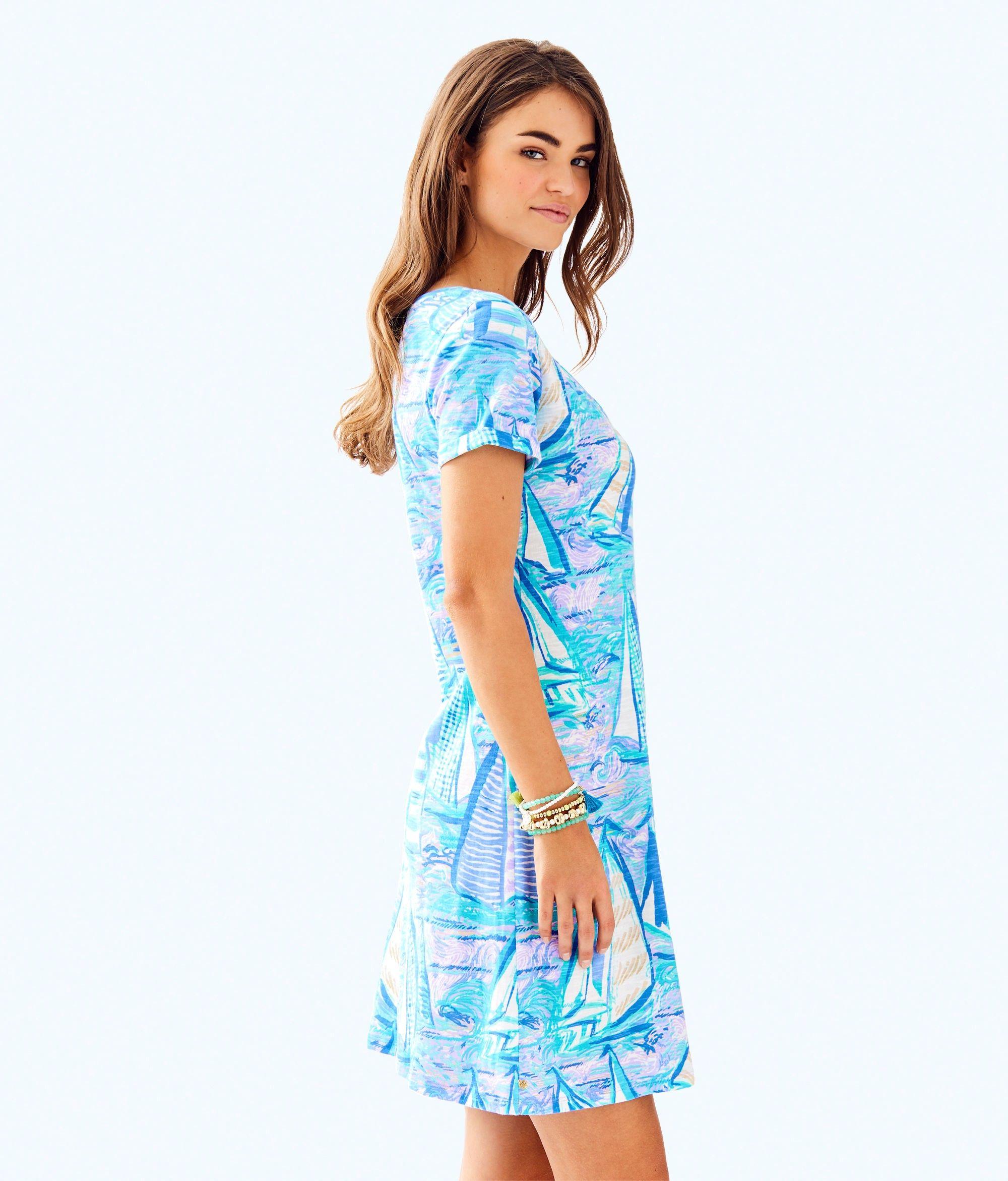 ca1c2403835c42 Lilly Pulitzer Jessica Short Sleeve Dress - XXS | Products | Short ...
