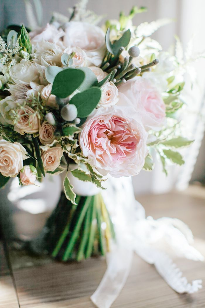 Blush wedding bouquet | fabmood.com