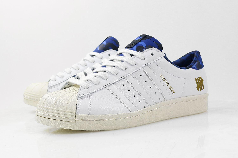 adidas superstar 80s undftd bape white