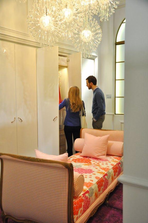 Ikea dressing room from the Toronto Interior Design Show