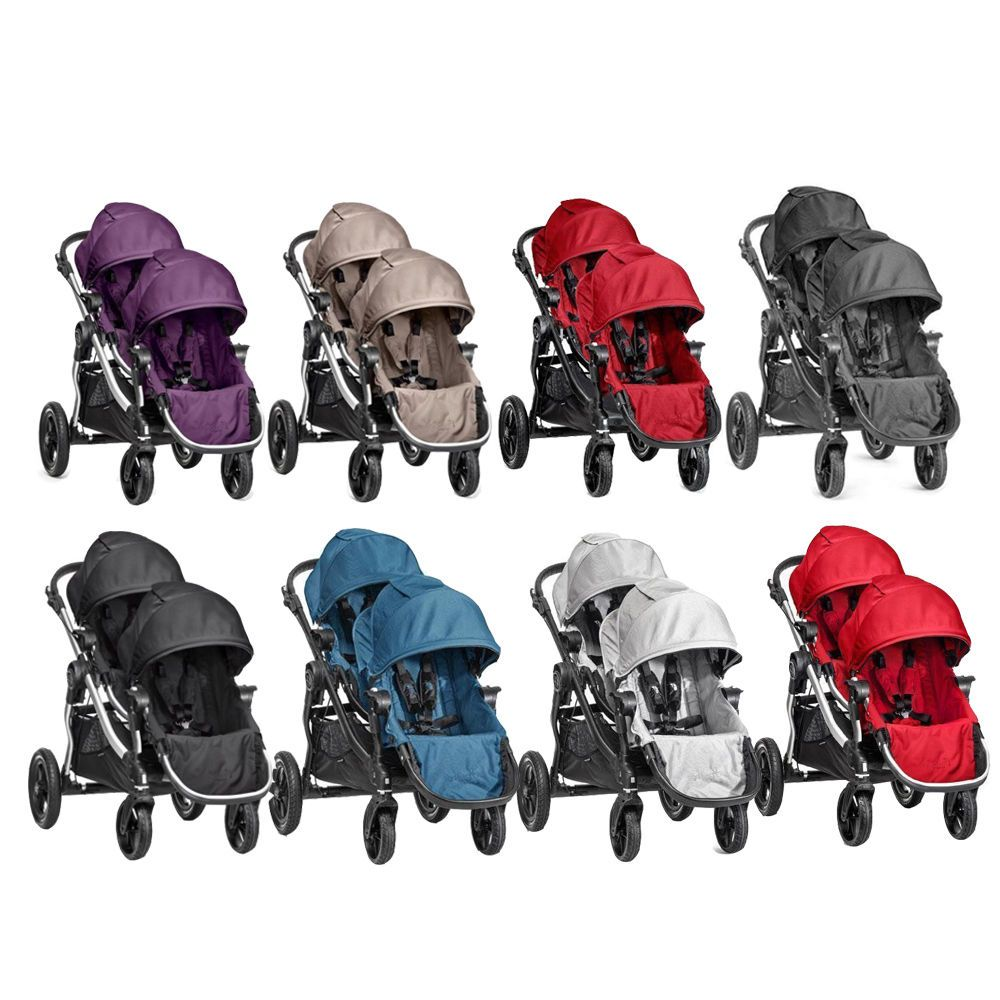 Details about NEW Baby Jogger City Select 2017 Double