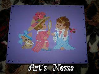 Art's Nêssa - Artesanato: Caixa porta maquiagem