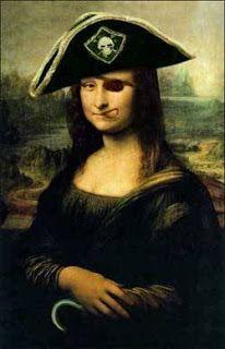 La Gioconda version: Pirates Style