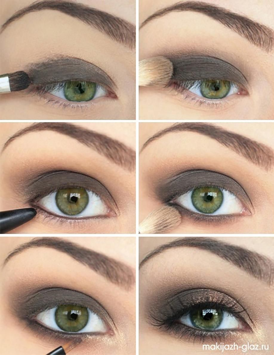 8 maquillages pour les yeux verts vus sur pinterest makeup eye and smoky eye. Black Bedroom Furniture Sets. Home Design Ideas
