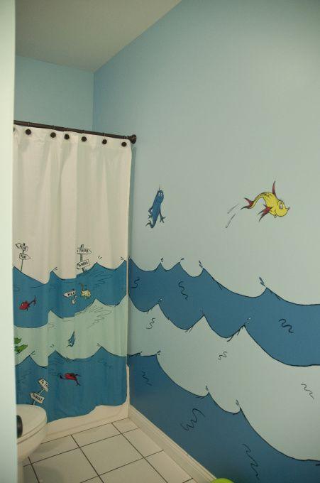 Dr Seuss Shower Curtains