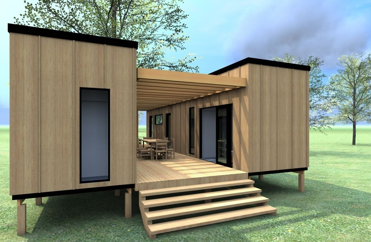 Prefabricated shipping container homes shipping for Container home designs australia