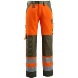Photo of Calças unissex de alta visibilidade Mascot® tamanho Maitland laranja 98