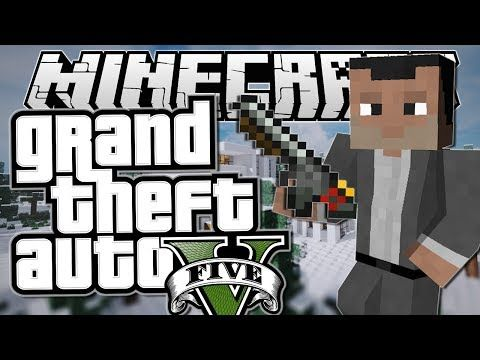 Minecraft Grand Theft Auto Gta Michael S Mission Mods Showcase Funny Moments Positive Life Magazine Grand Theft Auto Funny Moments Theft