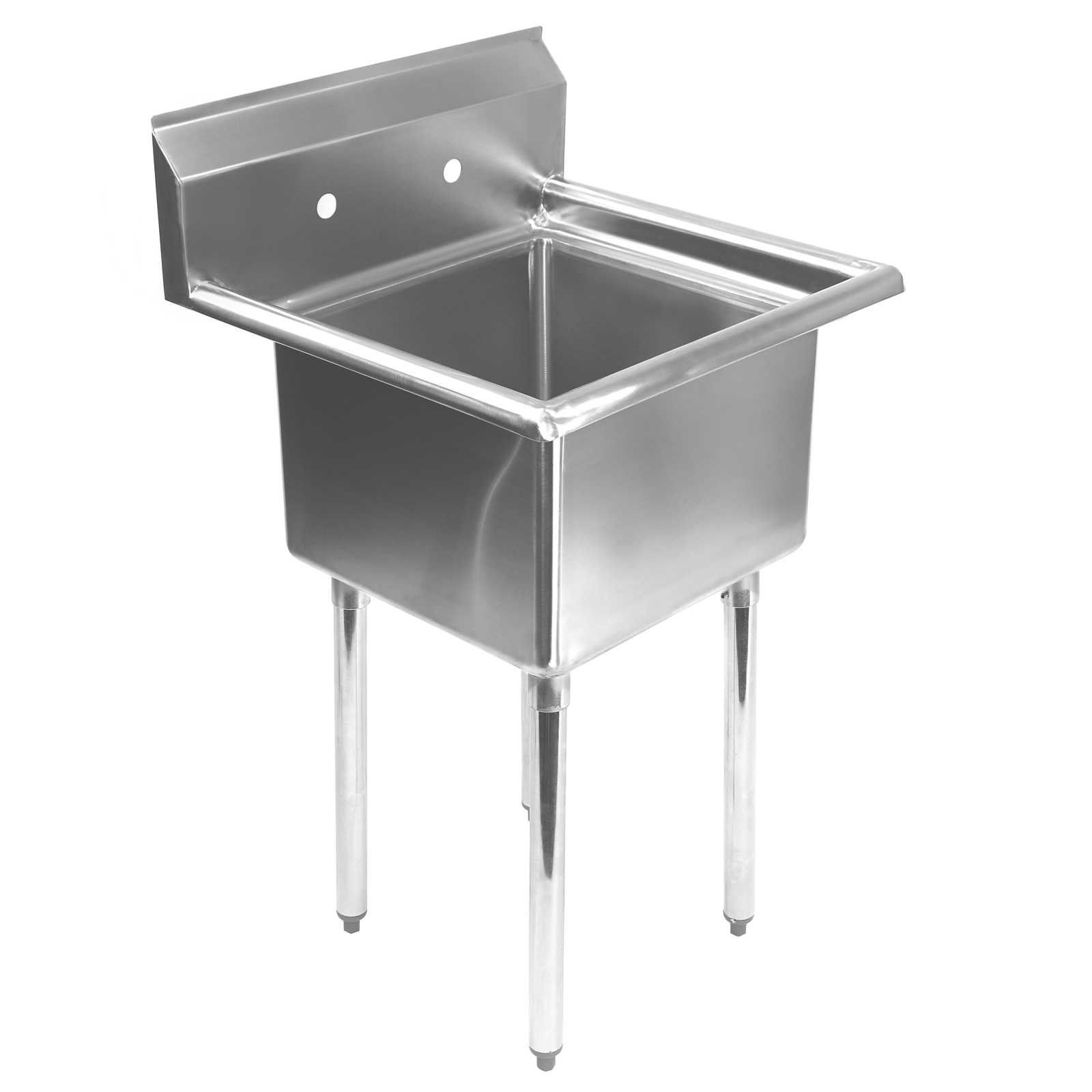 Utility Sink: $203 Amazon   Gridmann 1 Compartment Stainless Steel  Commercial Kitchen Prep U0026 Utility