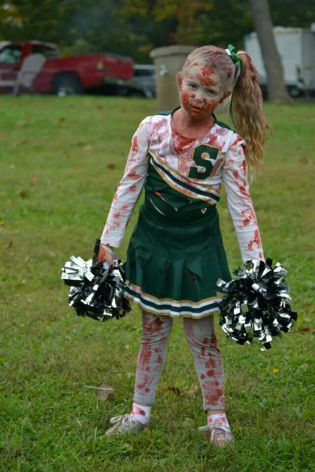 halloween costumes zombie cheerleader halloween costumes