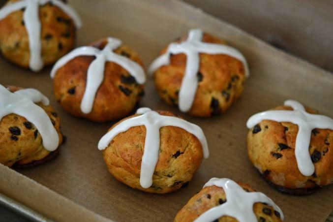 These Easter treats are so good, they even have a classic song named after them! Relive Easter memories of yore with this Hot Cross Buns recipe from Nicole of Gluten Free on a Shoestring.
