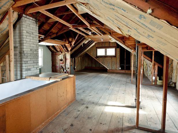 1920s Bungalow Restoration On Rehab Addict Attic Renovation Attic Master Suite Attic Remodel
