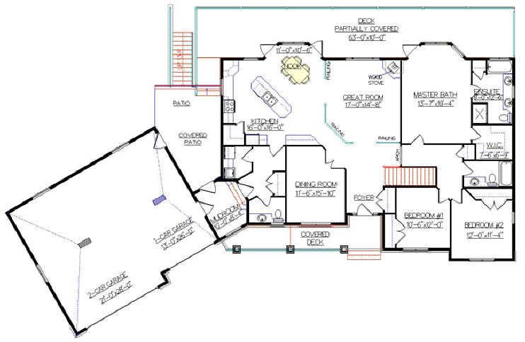 Best House Plans Design Ideas For Home Glamorous Collection Angled Garage Home Plans Rambler House Floor Plans Ranch Ranch Style House Plans Ranch House Plans