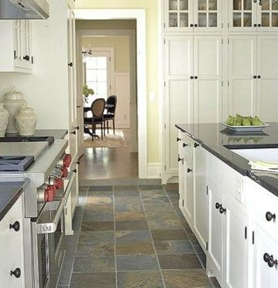which direction should you run your tile flooring? well | sinks