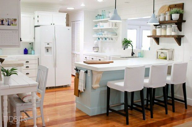 Quick Diy Kitchen Makeovers On A Dime  Kitchen Makeovers Stunning Design On A Dime Kitchen Design Decoration