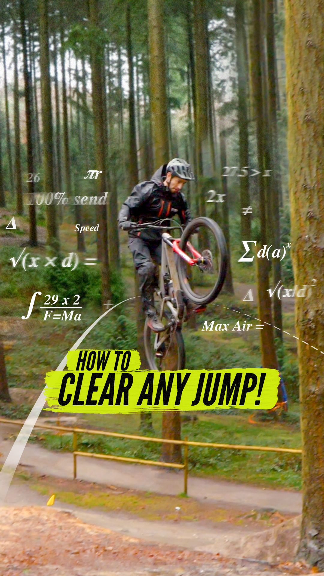 How To Clear Any Jump On Your Mountain Bike Mtb Skills Mtb Bike Mountain Mountain Biking Mtb Riding