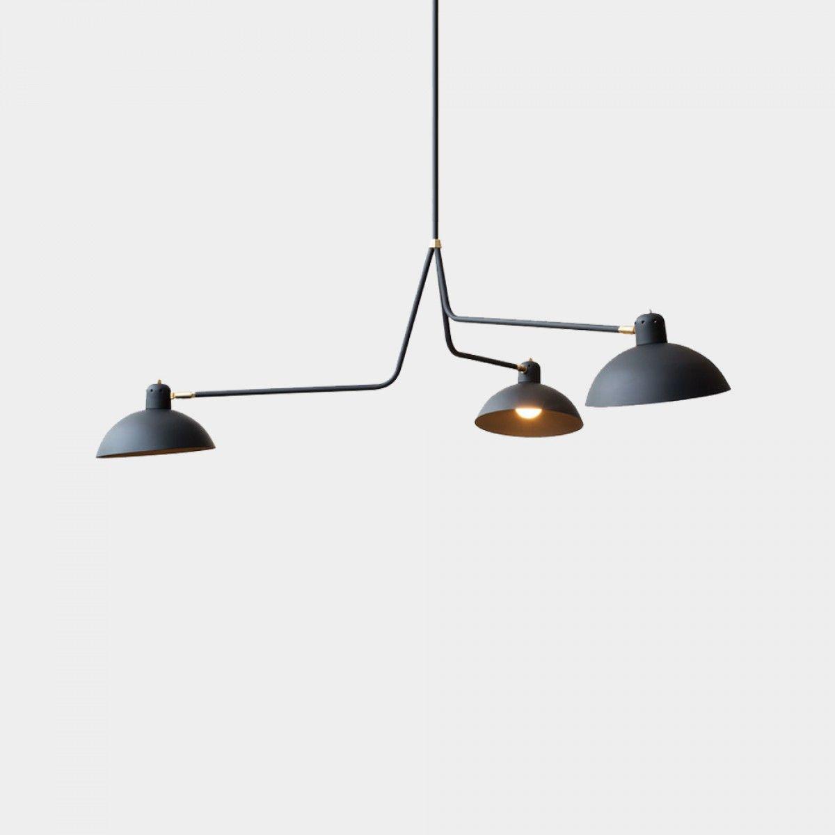 Great Waldorf Ceiling Lamp Shade Designer Samuel Lambert from Lambert u Fils inhabitant