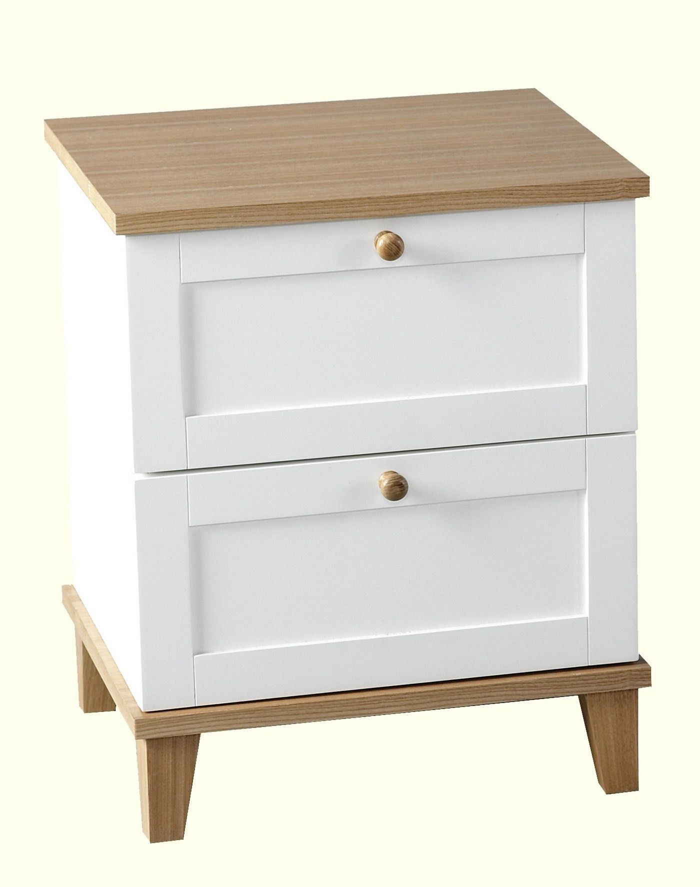 White side tables with drawers - Bedside Table Ikea