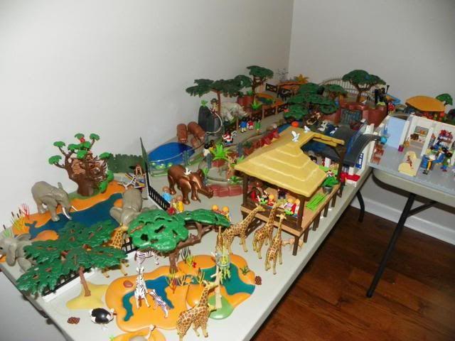Playmobil Zoo Diorama Dioramas Playmobil Playroom