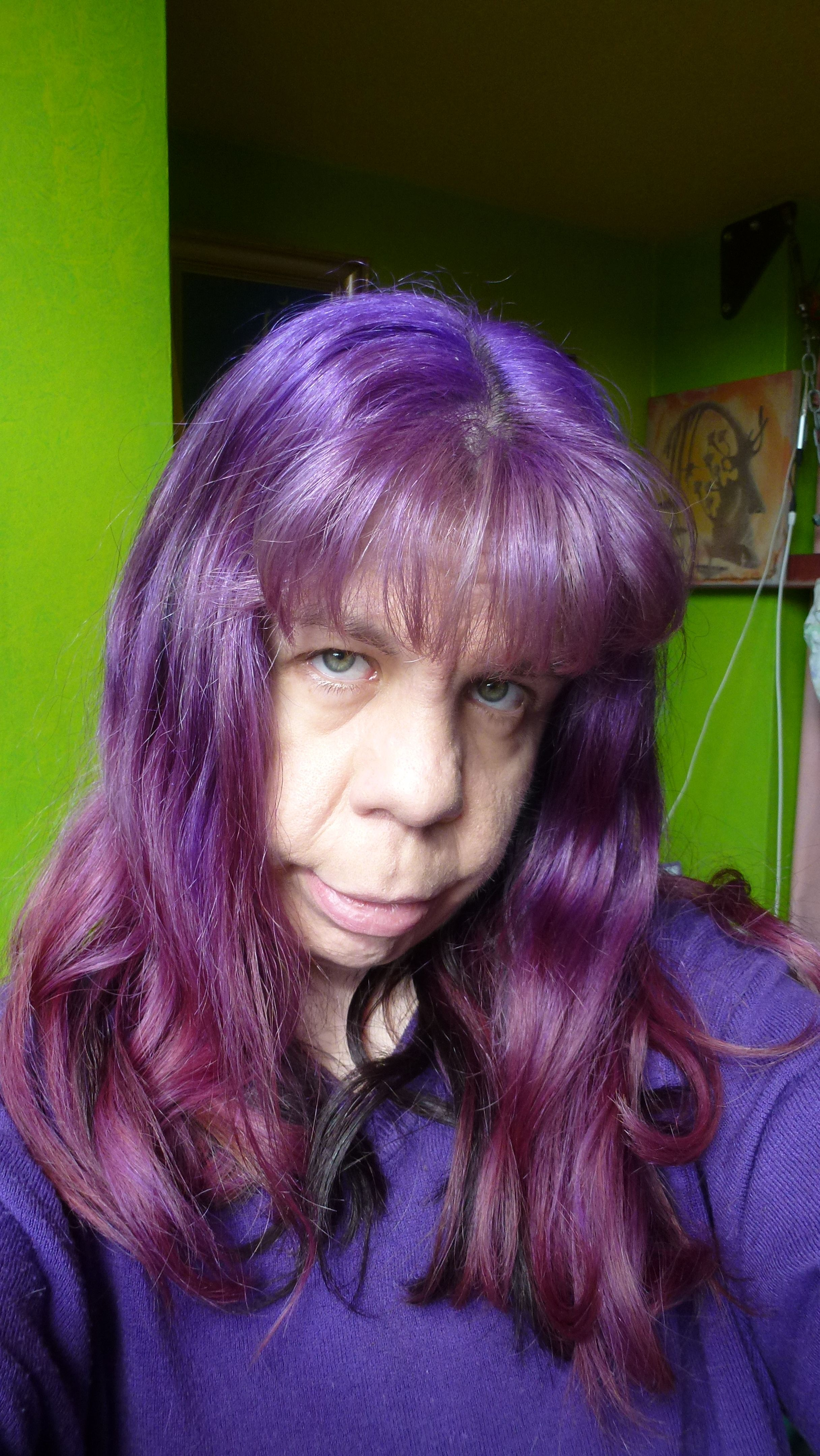 Image Result For Short Hair Purple Highlights Mommy Pinterest