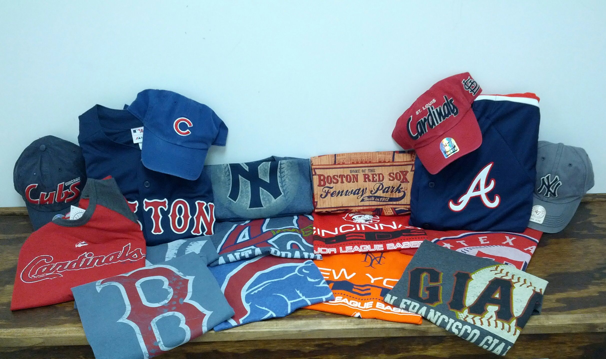 Mlb Gear Is Now In Yesterday Was Opening Day We Ve Got T Shirts Jerseys And Hats To Most Of Your Favorite Mlb Teams Now Ava Mlb Teams Team Apparel Opening Day