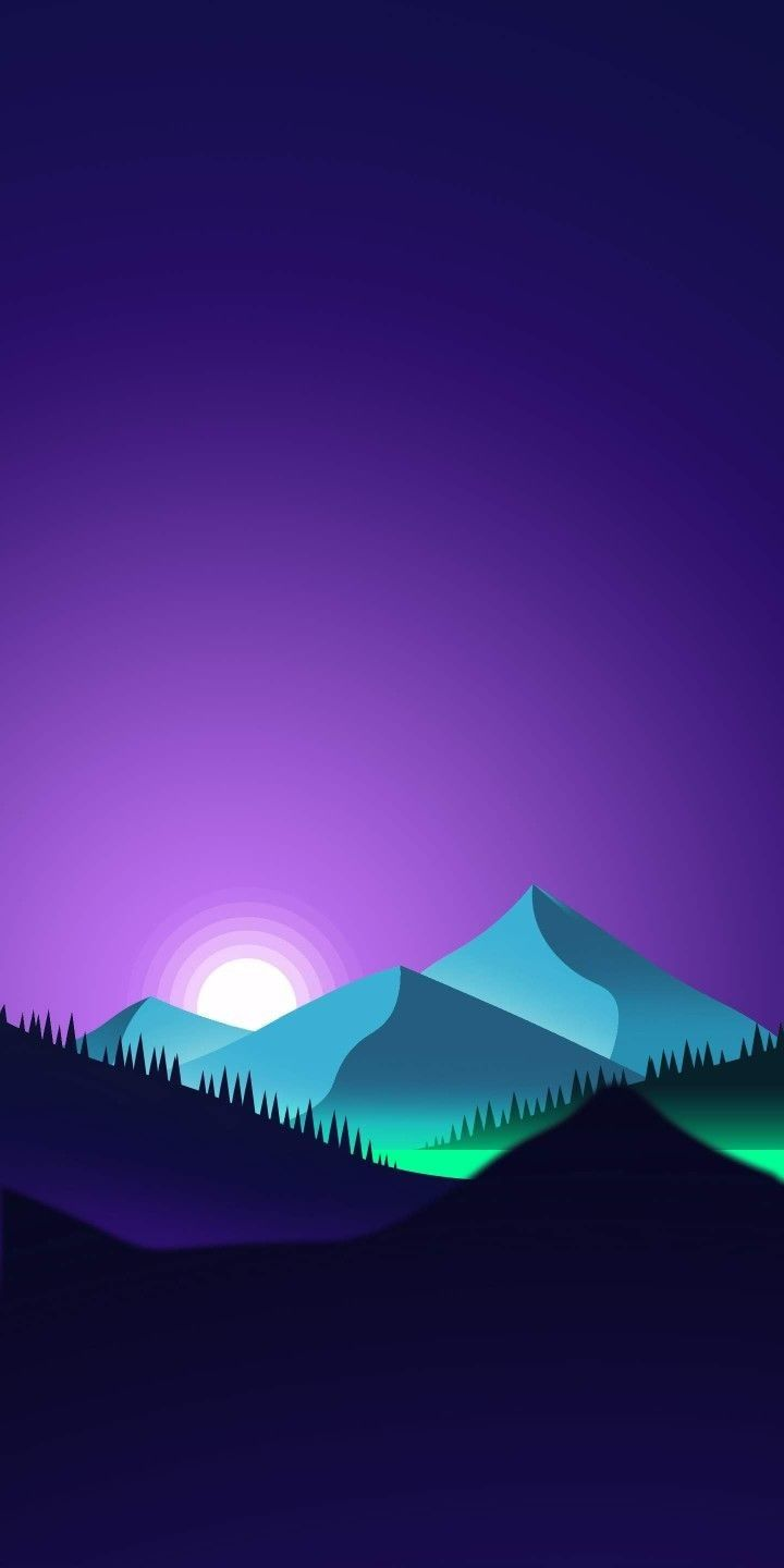 Minimal Wallpaper Download for iPhone & Android, colorful