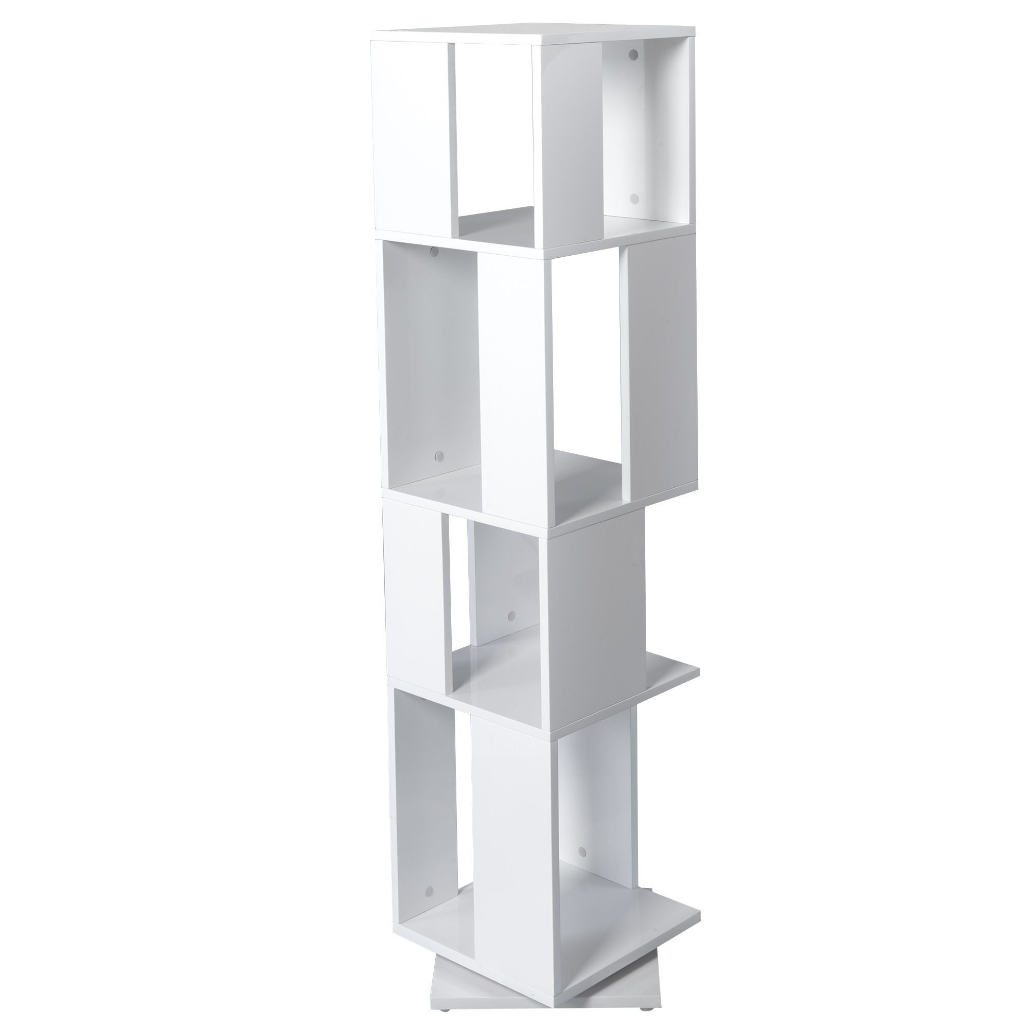 elegant tagre rotative cases blanc pix et tagres tout pour le with etagere alinea. Black Bedroom Furniture Sets. Home Design Ideas