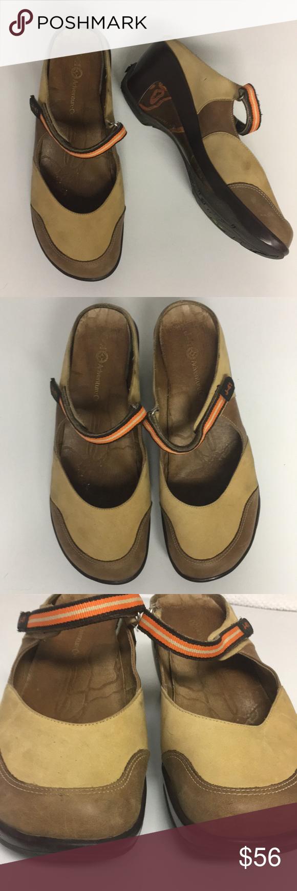 J41 Adventure On Marco Polo Slip On Heeled Shoes Shoes