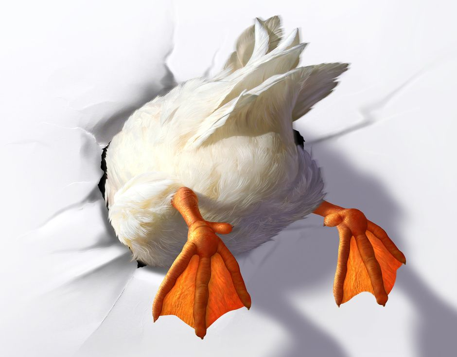 Aflac By Jerry Lofaro  Humourous  D  Cgsociety  CraftsArt