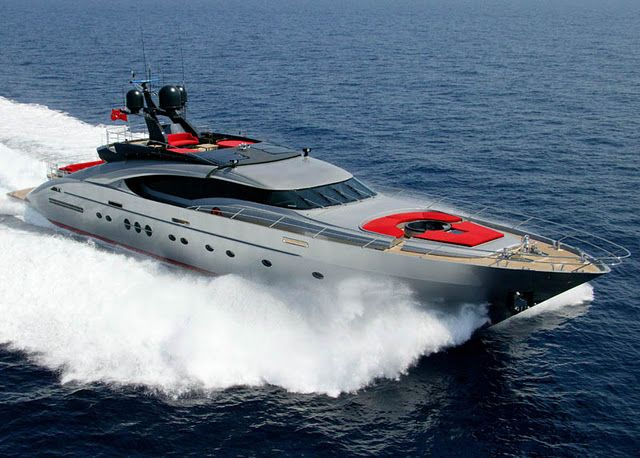"Kind of amazing when a yacht like this is practically *normal*. - Palmer Johnson's 135' ""Dragon"""