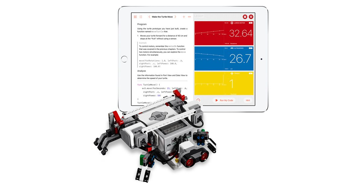 Swift Playgrounds coding app enables kids to program and