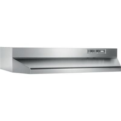 Broan 42000 Series 30 In Range Hood In Stainless Steel 423004 The Home Depot Broan Range Hood Ducted Range Hood